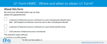 U1 Form HMRC - Where and When to obtain U1 Form?