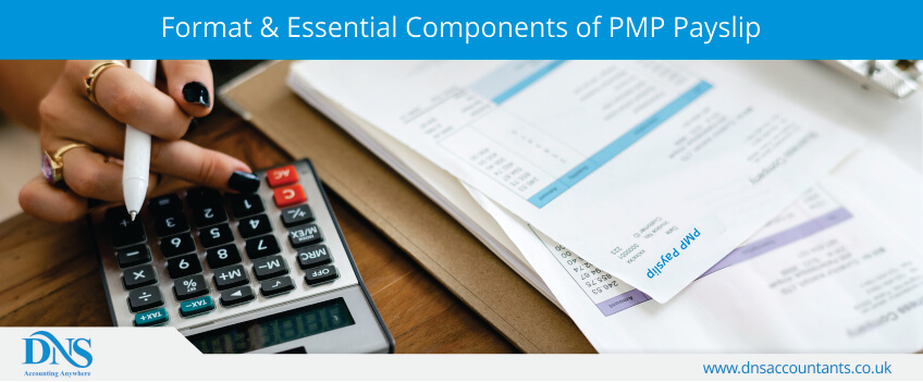 Format & Essential Components of PMP Payslip