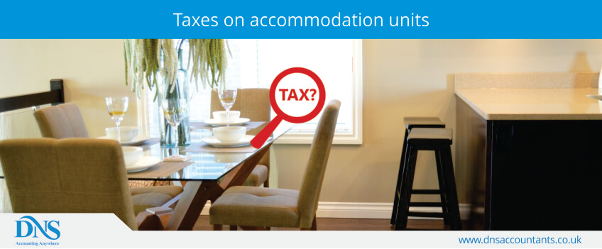 Taxes on accommodation units