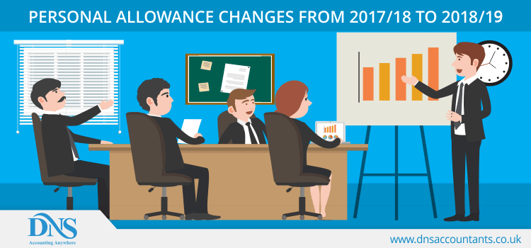 Personal Allowance Changes From 2016/17 to 2017/18