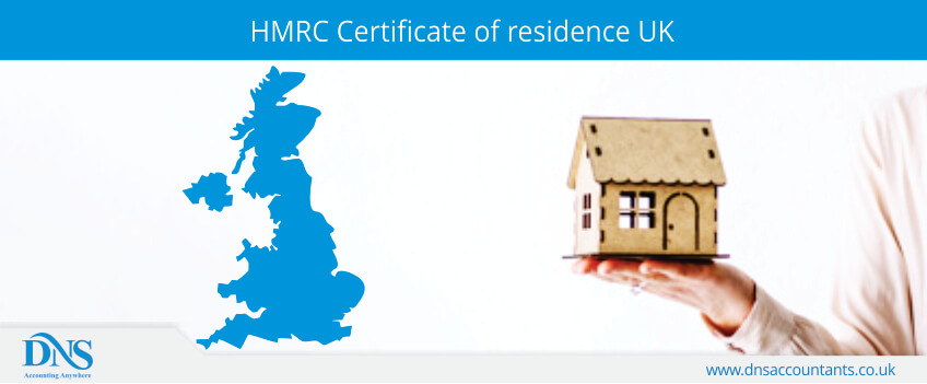 HMRC Certificate of residence UK