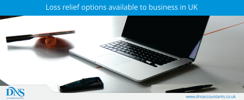 Loss relief options available to business in UK