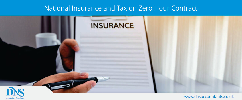 National Insurance and Tax on Zero Hour Contract