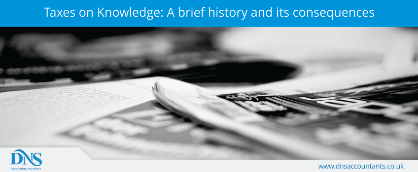 Taxes on Knowledge: A brief history and its consequences