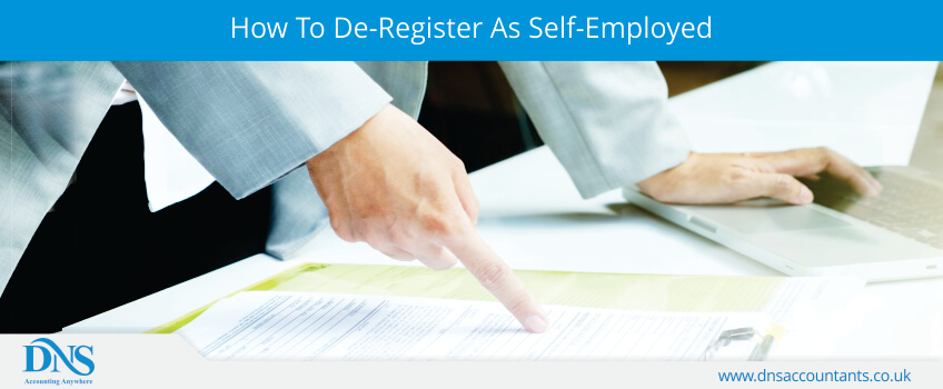 How To De-Register As Self-Employed