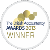 British Accountancy Award Winner 2013