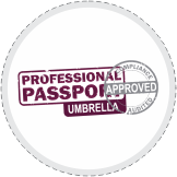 Professional Passport Umbrella