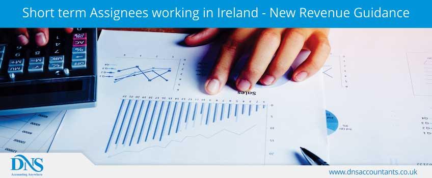 Short term Assignees working in Ireland - New Revenue Guidance