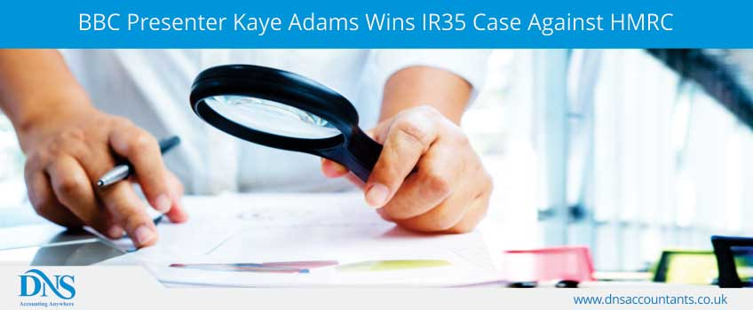 BBC Presenter Kaye Adams Wins Ir35 Case Against HMRC