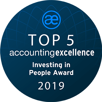 Finalist at Accounting Excellence Award 2019