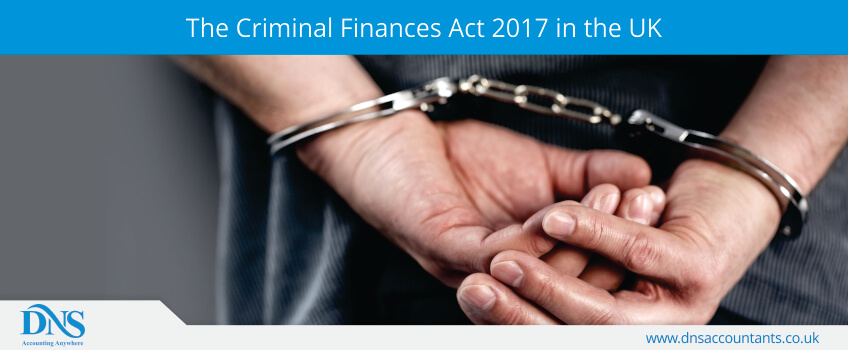 The Criminal Finances Act 2017 in the UK