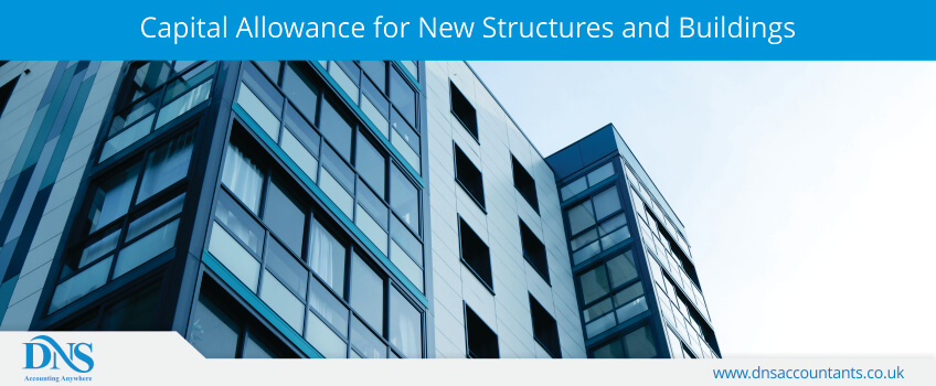 Capital Allowance for New Structures and Buildings