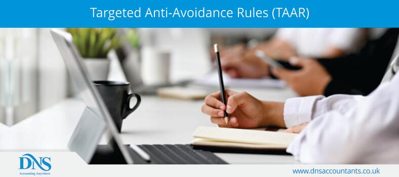 Targeted Anti-Avoidance Rules (TAAR)
