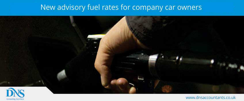 New advisory fuel rates for company car owners
