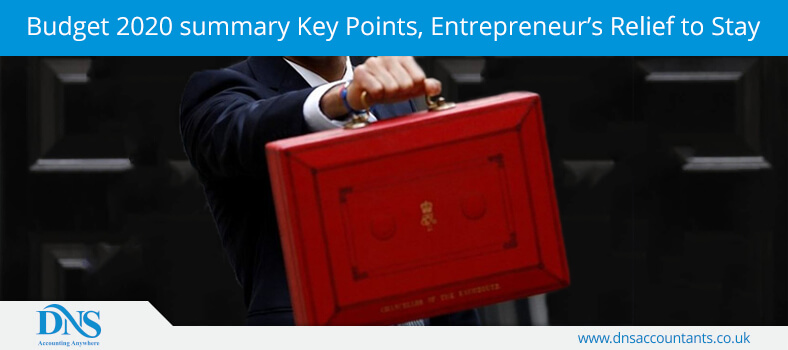 Budget 2020 summary: Key Points, Entrepreneur's Relief to Stay
