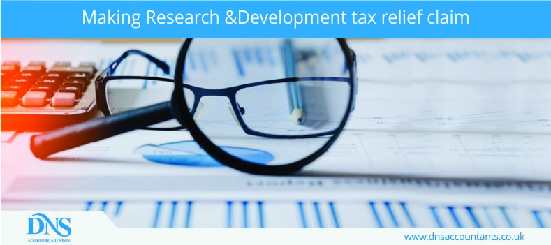 Making Research & Development tax relief claim