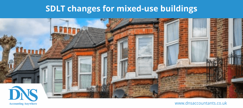 SDLT changes for mixed-use buildings