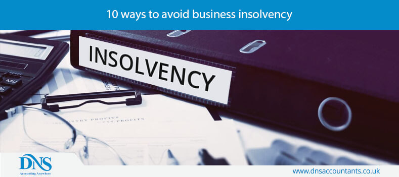 10 ways to avoid business insolvency