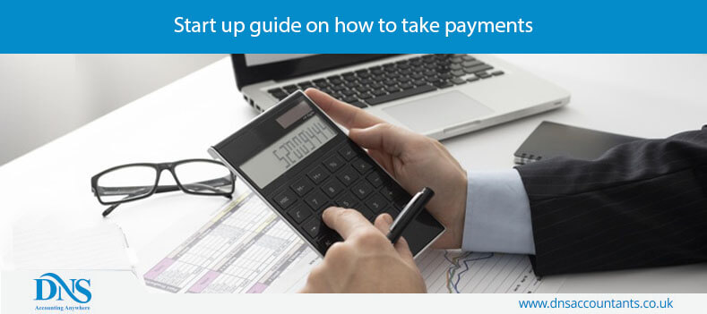 Start up guide on how to take payments