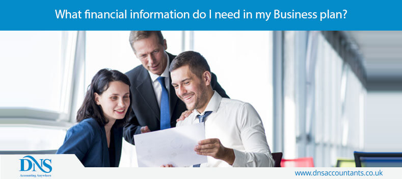 What financial information do I need in my Business plan?