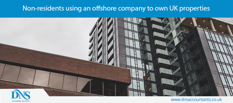 Non-residents using an offshore company to own UK properties