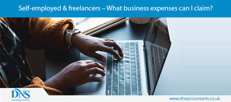Self-employed & freelancers – What business expenses can I claim?