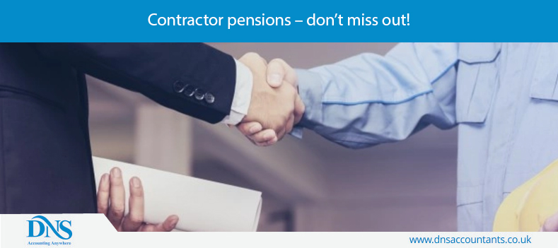 Contractor pensions – don't miss out!