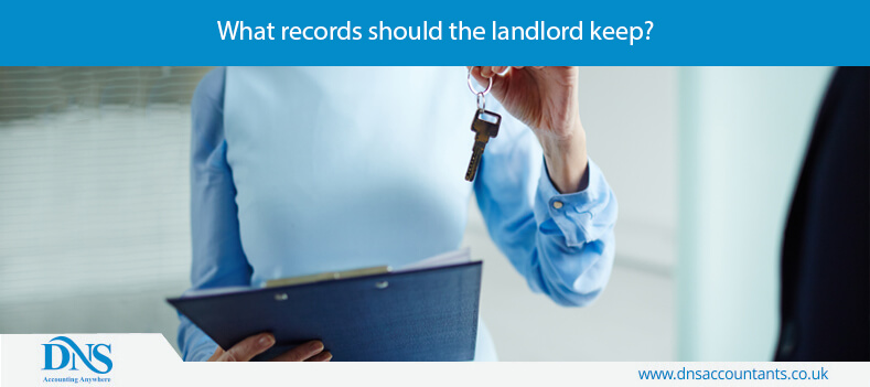 What records should the landlord keep?