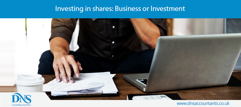 Investing in shares: Business or Investment
