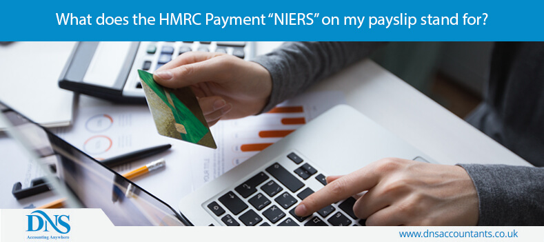 """What does the HMRC Payment """"NIERS"""" on my payslip stand for?"""