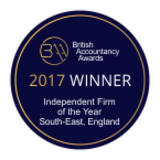 British Accountancy Award Winner 2017