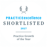 Shortlisted at the 2017 Practice Excellence Awards