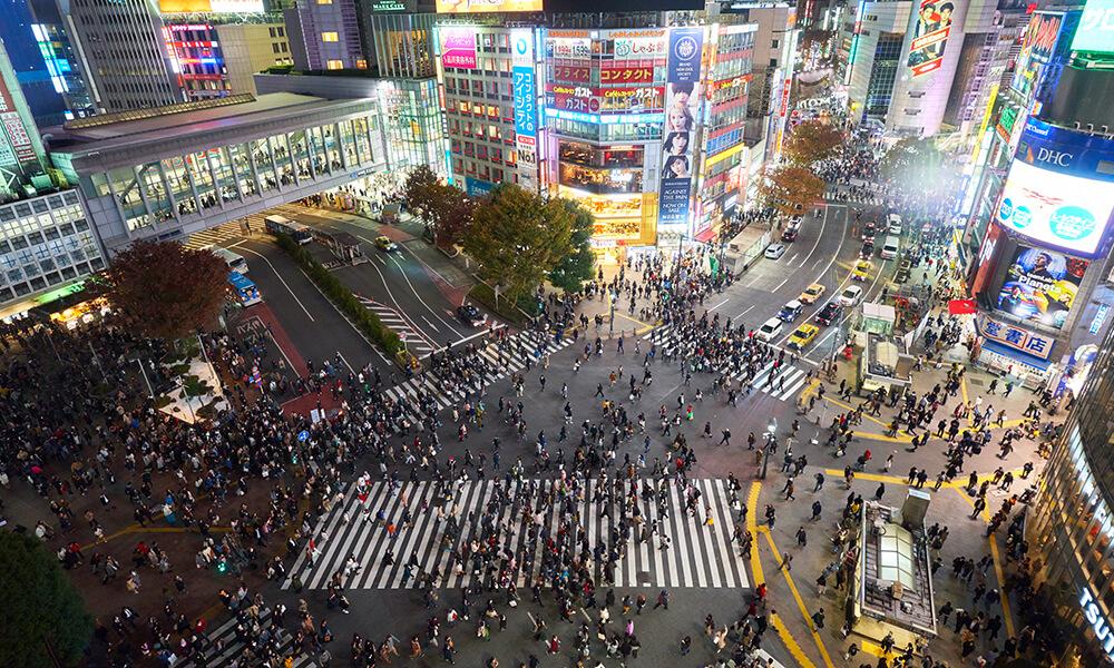 Shibuya station scramble intersection / Shibuya station Image1