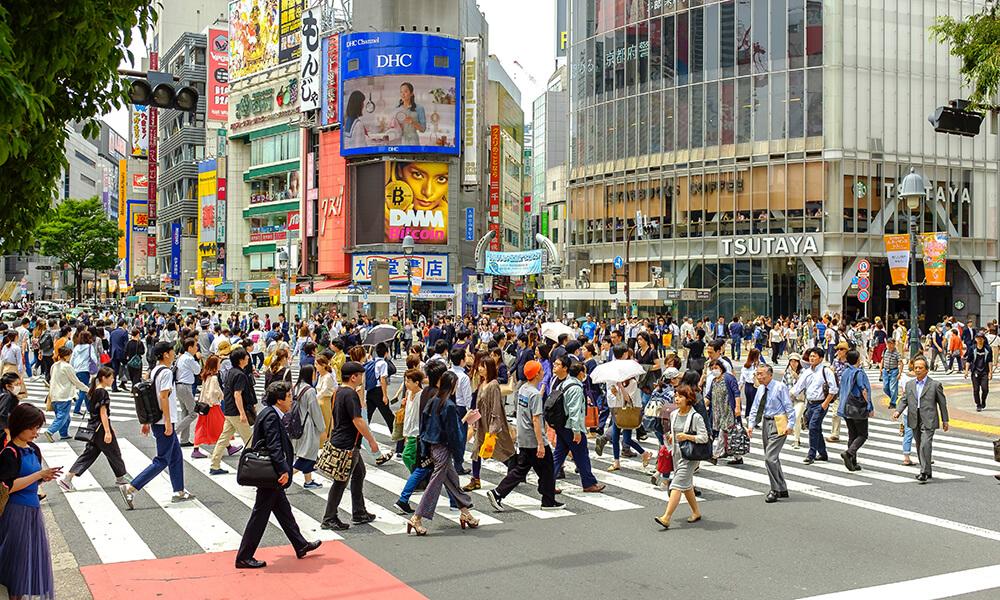 Shibuya station scramble intersection / Shibuya station Image2