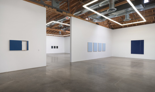Sean Duffy, Paintings, Installation view, SVLAP Solo Show July 12 - August 23, 2014; Photo credit: Robert Wedemeyer