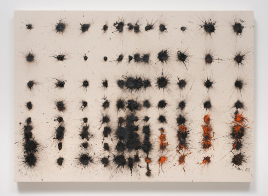 If You Can't Beat 'Em, Bite 'Em, 2014, Oil, rabbit skin glue on canvas, 47.25, Photo credit: Robert Wedemeyer