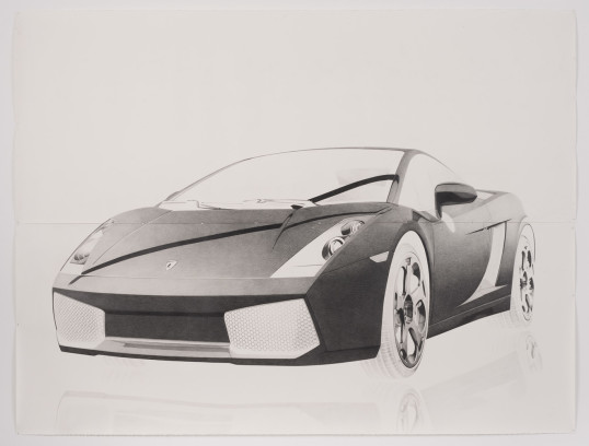 Transport, 2013, pencil on paper, 88.5, 12th Biennale de Lyon, September 12, 2013 - January 14, 2014, Courtesy of Susanne Vielmetter Los Angeles Projects, Photo credit: Robert Wedemeyer