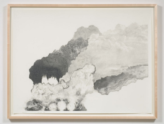Explosion # 23, 2008, Graphite on paper, Diptych, 30