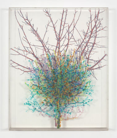"Charles Gaines,""Numbers and Trees II, #5 Gertrude"", 1987"