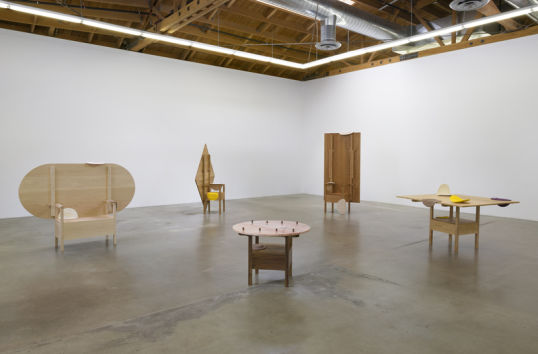 """Paul, Paul, Paul, and Paul,"" Installation View, Photo cred: Robert Wedemeyer"