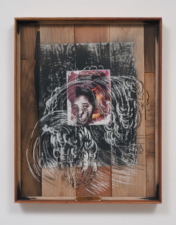 "The Slave Ship Zong Massacre 1781 Malady Mythology II, 2013, Mixed media collage on paper, 29.125"" H x 23.125"" W (73.98 cm H x 58.74 cm W), Photo credit: Robert Wedemeyer"