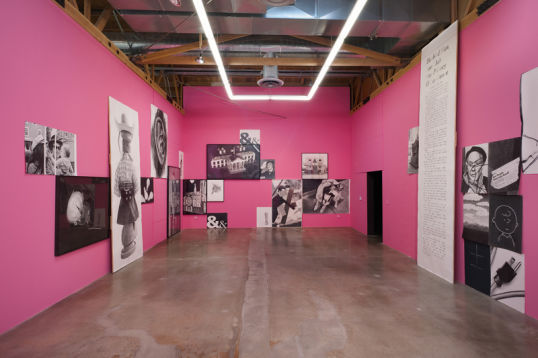 Informal Family Blackmail, Installation View, 2012, Installation view, Gallery 4