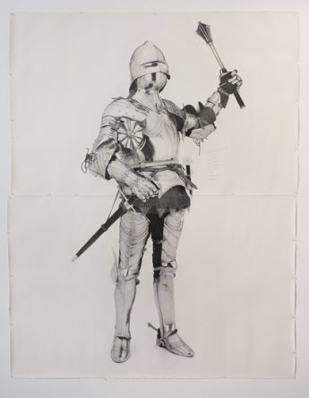 Knight #8, 2011, Pencil on paper, 102