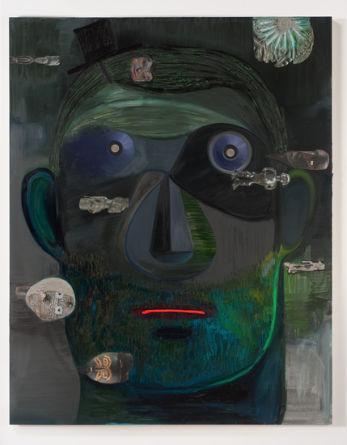 "Guy Capitalist, 2011, 76"" x 60"""