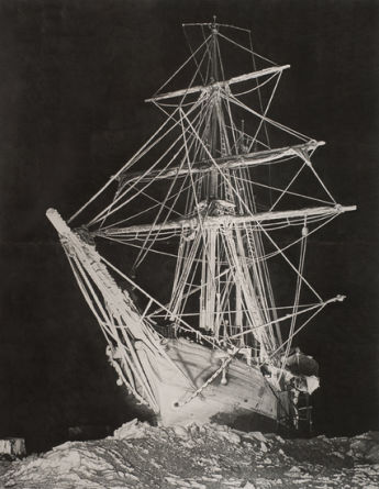 Shackleton #2, 2008, Graphite on paper, 103