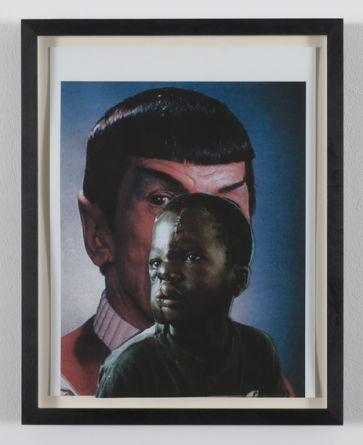 Myth, Nature, Man: an Advancement of Evolution, 2009, Inkjet on paper, 35,5 x 19,3 cm, Photocredit Lutz Bertram, Berlin