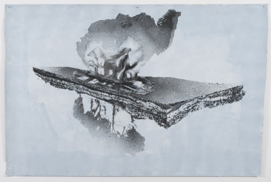 American Natural History, 2009, Acrylic, graphite on paper, 153 x 228,5 cm, Photocredit Lutz Bertram, Berlin