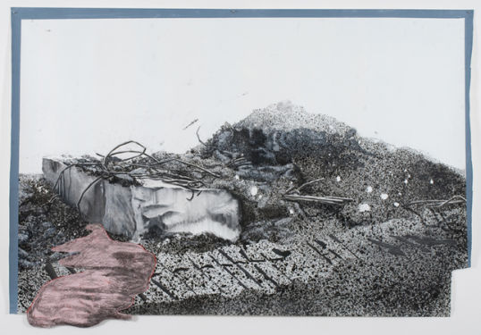 Dragged Mass as Allegory, 2009, Acrylic, graphite on paper, 160 x 231 cm, Photocredit Lutz Bertram, Berlin
