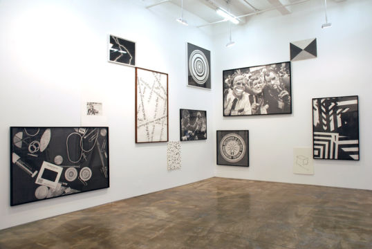 Installation view, 2007, at Harris Lieberman Gallery, New York