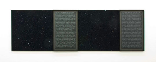 History of Stars 4, 2007, C-Print mounted on aluminum, 2 panels each 40
